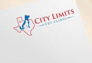 City Limits Vet Clinic Logo - Entry #148