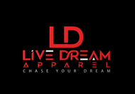 LiveDream Apparel Logo - Entry #389
