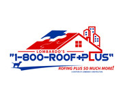 1-800-Roof-Plus Logo - Entry #64