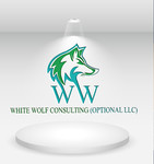 White Wolf Consulting (optional LLC) Logo - Entry #32