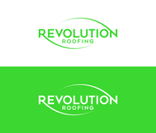 Revolution Roofing Logo - Entry #134