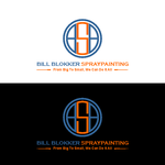 Bill Blokker Spraypainting Logo - Entry #72