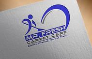 Mr. Fresh Carpet Care Logo - Entry #44