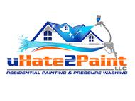 uHate2Paint LLC Logo - Entry #139