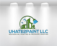 uHate2Paint LLC Logo - Entry #20