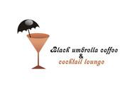 Black umbrella coffee & cocktail lounge Logo - Entry #3
