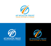4P Wealth Trust Logo - Entry #169