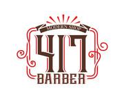 417 Barber Logo - Entry #48