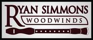 Woodwind repair business logo: R S Woodwinds, llc - Entry #90