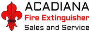 Acadiana Fire Extinguisher Sales and Service Logo - Entry #1