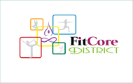 FitCore District Logo - Entry #23