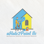 uHate2Paint LLC Logo - Entry #59