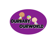 Logo for our Baby product store - Our Baby Our World - Entry #27