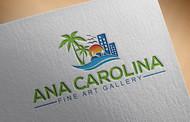 Ana Carolina Fine Art Gallery Logo - Entry #234