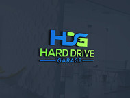 Hard drive garage Logo - Entry #152