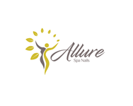 Allure Spa Nails Logo - Entry #86