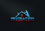 Revolution Roofing Logo - Entry #65