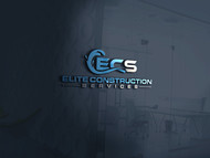 Elite Construction Services or ECS Logo - Entry #18