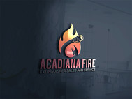Acadiana Fire Extinguisher Sales and Service Logo - Entry #42