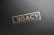 LEGACY RENOVATIONS Logo - Entry #71