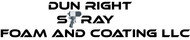 Dun Right Spray Foam and Coating LLC Logo - Entry #28