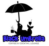 Black umbrella coffee & cocktail lounge Logo - Entry #52