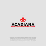 Acadiana Fire Extinguisher Sales and Service Logo - Entry #235