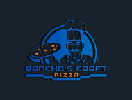 Pancho's Craft Pizza Logo - Entry #53