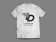 LiveDream Apparel Logo - Entry #527