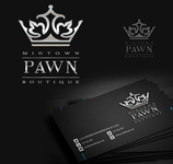Either Midtown Pawn Boutique or just Pawn Boutique Logo - Entry #86