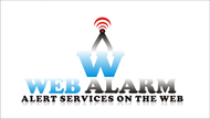 Logo for WebAlarms - Alert services on the web - Entry #71