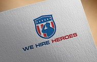 """We Hire Heroes""  Or ""We Hire Veterans"" Logo - Entry #25"