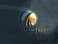 4P Wealth Trust Logo - Entry #324
