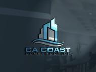 CA Coast Construction Logo - Entry #230
