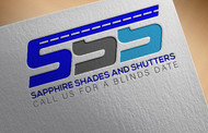 Sapphire Shades and Shutters Logo - Entry #68