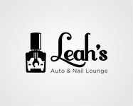 Leah's auto & nail lounge Logo - Entry #13