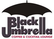 Black umbrella coffee & cocktail lounge Logo - Entry #69