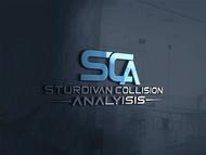 Sturdivan Collision Analyisis.  SCA Logo - Entry #73