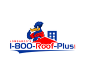 1-800-Roof-Plus Logo - Entry #39