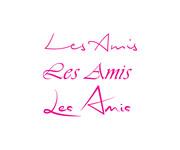 Les Amis Logo - Entry #21