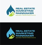 Real Estate Marketing Rainmaker Logo - Entry #15