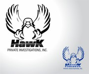 Hawk Private Investigations, Inc. Logo - Entry #79