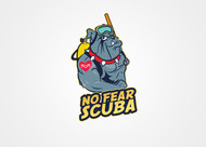 No Fear Scuba Logo - Entry #55
