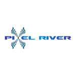 Pixel River Logo - Online Marketing Agency - Entry #87