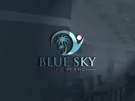 Blue Sky Life Plans Logo - Entry #202