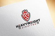 Heavyweight Jiujitsu Logo - Entry #186