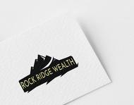 Rock Ridge Wealth Logo - Entry #104