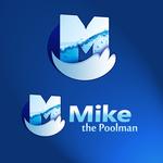Mike the Poolman  Logo - Entry #40