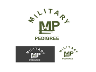 Military Pedigree Logo - Entry #24