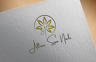 Allure Spa Nails Logo - Entry #65